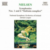Nielsen, C.: Symphonies Nos. 1 and 6, 'sinfonia Semplice' - CD