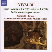 Aradia Ensemble: Vivaldi, A.: Sacred Music, Vol. 1 - CD