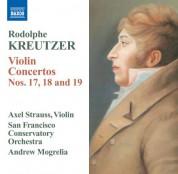 Axel Strauss: Kreutzer: Violin Concertos Nos. 17-19 - CD