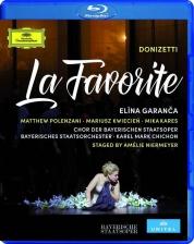 Elina Garanča, Bayerisches Staatsorchester, Mariusz Kwiecien, Matthew Polenzani: Donizetti: La Favorita - BluRay