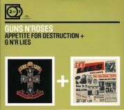 Guns N' Roses: Appetite For Destruction/G N'r Lies - CD