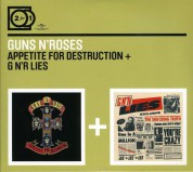 Guns N' Roses: Appetite For Destruction/G N'r Lies - CD
