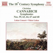 Lukas Consort: Cannabich: Symphonies Nos. 59, 63, 64, 67 and 68 - CD