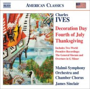 James Sinclair: Ives, C.: Holidays Symphony (Excerpts) - the General Slocum - Overture In G Minor - CD