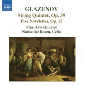 Glazunov: 5 Novelettes / String Quintet in A Major - CD