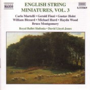 English String Miniatures, Vol. 3 - CD