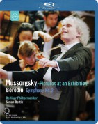 Berliner Philharmoniker, Sir Simon Rattle: Borodin: Symphony No.2 / Mussorgsky: Pictures at an Exhibition - BluRay