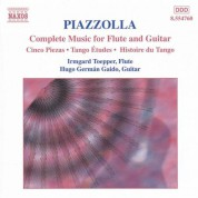 Hugo German Gaido, Irmgard Toepper: Piazzolla: Complete Music for Flute & Guitar - CD