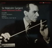 London Philharmonic Orchestra, Malcolm Sergent: Elgar/ Holst: Enigma Variations/ The Planets - CD