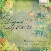 Alessandro Andriani, Simone Ceppetelli: Duport: Etudes for Cello Solo - CD