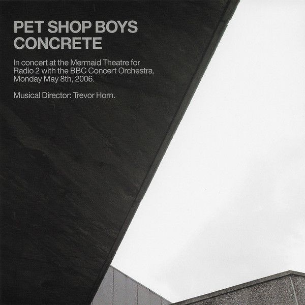 Pet shop boys concrete 39 in concert at the mermaid theatre 39 cd opus3a - Cd concreet ...