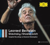 Leonard Bernstein, Martha Argerich, Chicago Symphony Orchestra, English Bach Festival Orchestra, Wiener Philharmoniker, Krystian Zimerman: Bernstein - Stravinsky, Shostakovich - CD