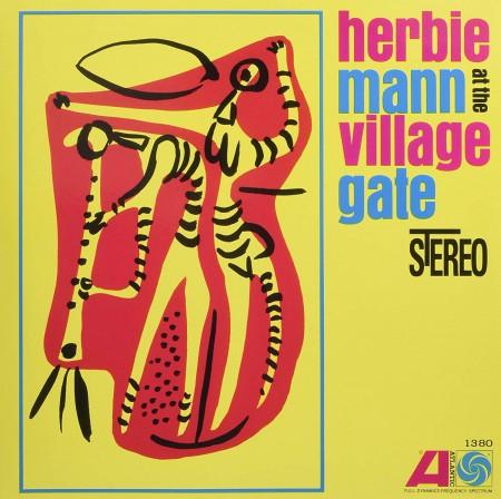 Herbie Mann: At The Village Gate - Plak