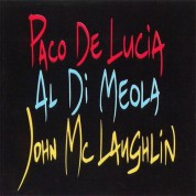 Paco de Lucia, Al Di Meola, John McLaughlin: The Guitar Trio - CD