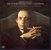 Glenn Gould: Beethoven: The 5 Piano Concertos - Plak