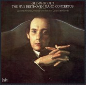 Glenn Gould: Beethoven: The 5 Piano Concertos - Plak