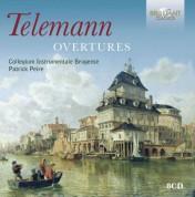 Collegium Instrumentale Brugense, Patrick Peire: Telemann: Overtures - CD