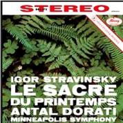 Minneapolis Symphony Orchestra, Antal Doráti: Stravinsky: Le Sacre Du Printemps - Plak