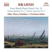 Christian Kohn, Silke-Thora Matthies: Brahms: Four-Hand Piano Music, Vol. 12 - CD