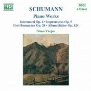 Schumann, R.: Intermezzi, Op. 4 / Impromptus, Op. 5 / 3 Romances, Op. 28 - CD