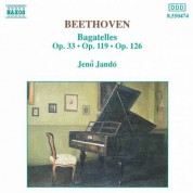Beethoven: Bagatelles, Opp. 33, 119 and 126 - CD