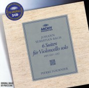 Pierre Fournier: Bach, J.S.: 6 Cello Suites - CD