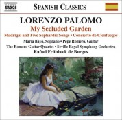 María Bayo: Palomo, L.: My Secluded Garden / Madrigal and 5 Sephardic Songs / Concierto De Cienfuegos - CD