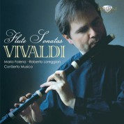 ConSerto Musico, Mario Folena, Stefania Marusi, Francesco Baroni, Roberto Loreggian: Vivaldi: Complete Flute Sonatas - CD