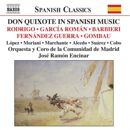 José Ramón Encinar: Don Quixote In Spanish Music - CD