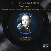 Jascha Heifetz: Heifetz: Encores, Vol. 2 (1946-1947) - CD
