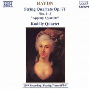 Haydn: String Quartets Op. 71, Apponyi Quartets - CD