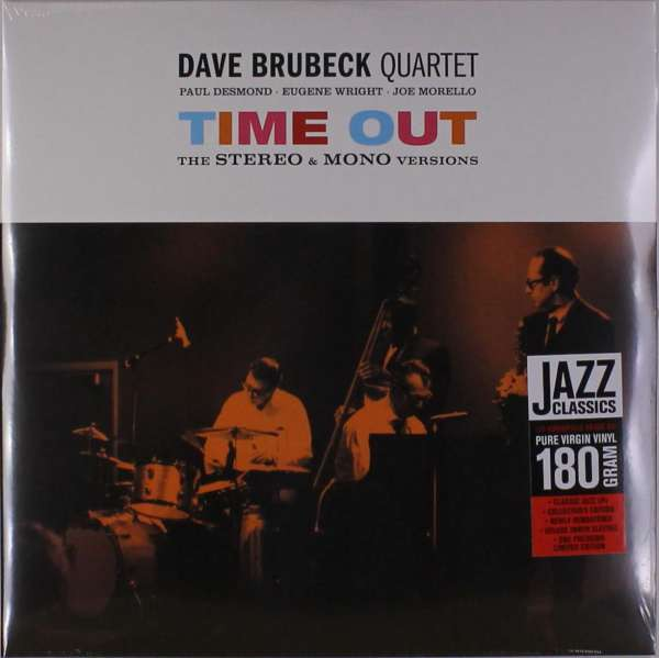 Dave Brubeck: Time Out: The Stereo + Mono Versions - Plak