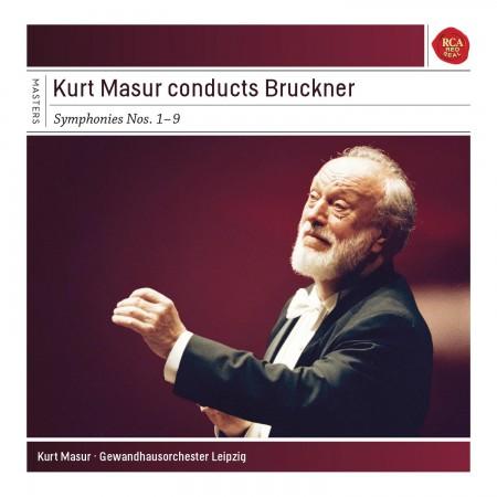Kurt Masur, Gewandhausorchester Leipzig: Bruckner: Symphonies Nos. 1-9 - CD