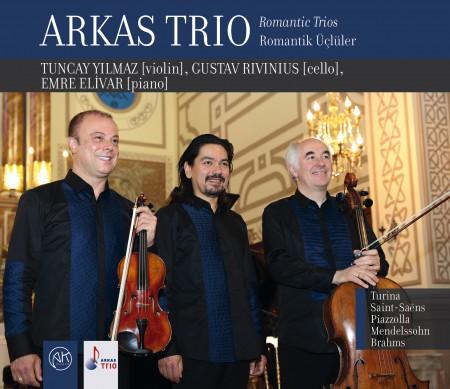 Arkas Trio: Romantik Üçlüler - CD
