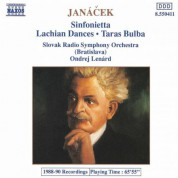 Janacek: Lachian Dances / Taras Bulba / Sinfonietta - CD