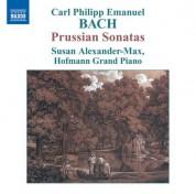 Susan Alexander-Max: Bach: Prussian Sonatas - CD