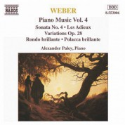 Weber: Piano Music, Vol. 4 - CD