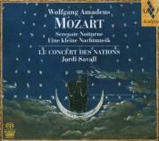 Le Concert des Nations, Jordi Savall: Wolgang Amadeus Mozart - Serenate Notturne - Eilen kleine Nachtmusik - SACD