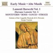 San Petronio Cappella Musicale Soloists: Lamenti Barocchi, Vol.  1 - CD