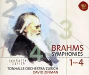 David Zinman, Tonhalle Orchester Zurich: Brahms: Symphonies 1-4 - CD