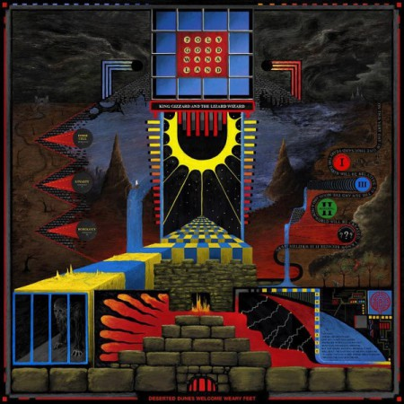 King Gizzard and the Lizard Wizard: Polygondwanaland (Limited Edition - White Vinyl) - Plak