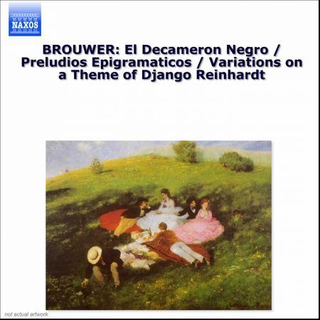 Elena Papandreou: Brouwer: Guitar Music, Vol. 2 - Decameron Negro (El) / Preludios Epigramaticos - CD