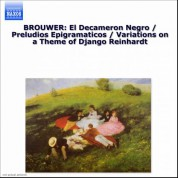 Elena Papandreou: Brouwer: Guitar Music, Vol. 2 - Decameron Negro (El) / Preludios Epigramaticos - CD