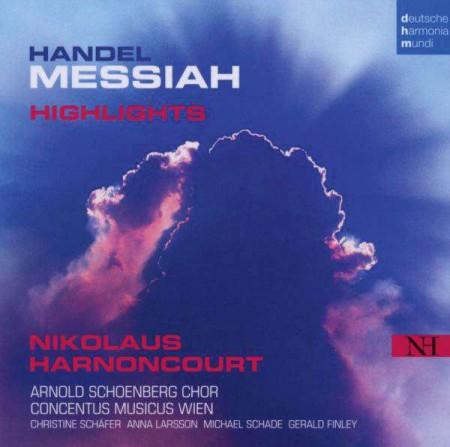Nikolaus Harnoncourt, Arnold Schoenberg Chor, Concentus Musicus Wien: Händel: Messiah - CD