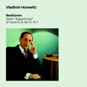 "Vladimir Horowitz: Beethoven: Sonata ""Apassionata"", Sonata In D, Op.10 No. 3 - CD"