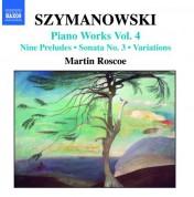 Szymanowski: Piano Works, Vol.  4 - CD