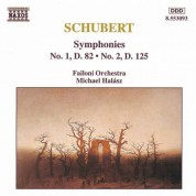 Schubert: Symphonies Nos. 1 and 2 - CD
