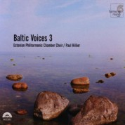 Estonian Philharmonic Chamber Choir, Paul Hillier: Baltic Voices 3 - CD