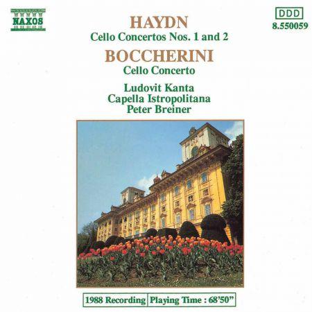 Haydn: Cello Concertos Nos. 1 and 2 / Boccherini: Cello Concerto in B-Flat Major - CD