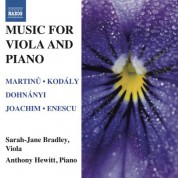Sarah-Jane Bradley: Music for Viola and Piano - CD